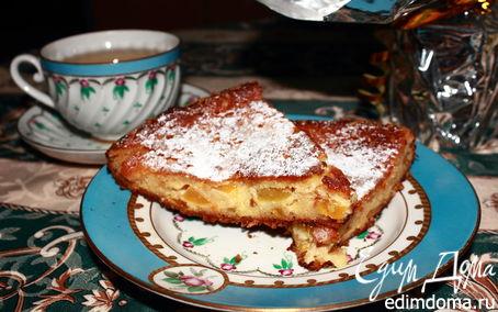 """Рецепт Творожно-персиковый пирог """"Неженка"""""""