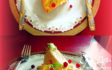 Рецепт Флан с мясом краба