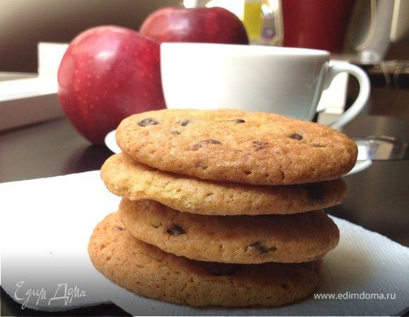 Печеньки с шоколадными каплями для Тани