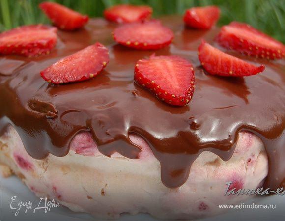 Клубничный мини-тортик