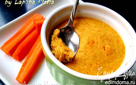 Рецепт Морковно-яблочное суфле в пароварке