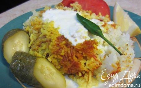 Рецепт Карри Бириани - запеченный карри с рисом и вкуснейшей корочкой