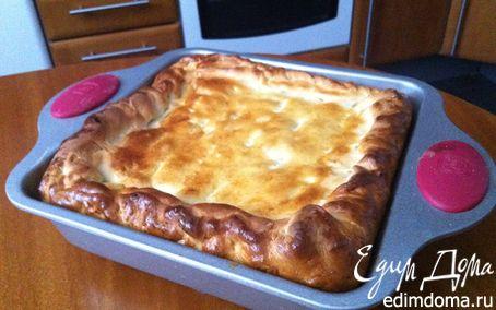 Рецепт Щавелевый пирог с творожным сыром