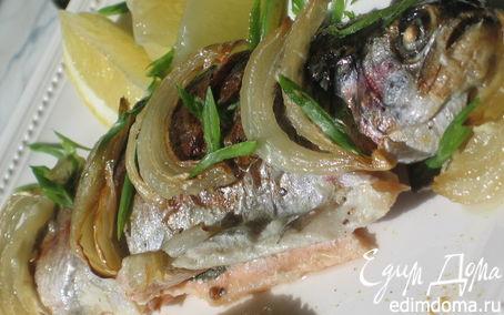 Рецепт Микижа в сметанно-луковом соусе с рисом и карри