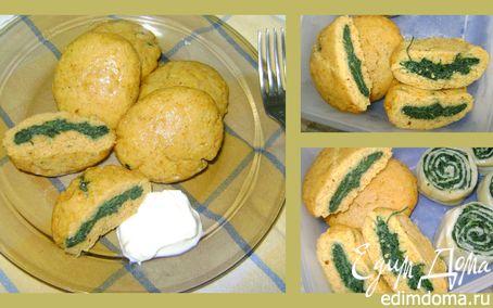 Рецепт Кукурузный хинкал с крапивой