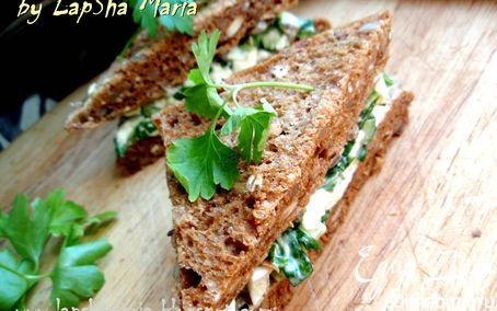 Рецепт Сэндвич с яичным салатом
