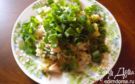 Рецепт Рис с имбирём, овощами и куриной грудкой
