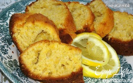 Рецепт Тыквенный кекс с цитрусовой пропиткой
