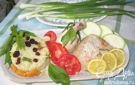 Рецепт Сочная курица в мягком соусе в пароварке