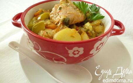 Рецепт Летнее рагу с курицей