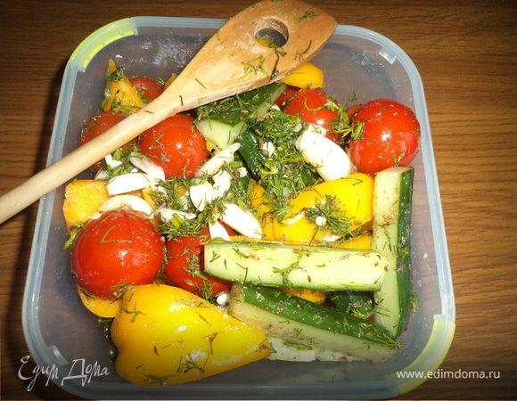 Овощи под шашлычок