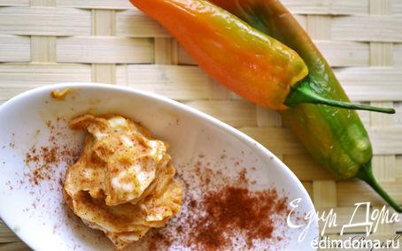 Рецепт Ароматное масло с печеными перцами и паприкой