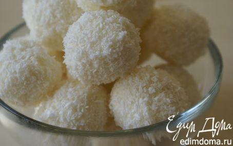 Рецепт Рафаэлло из крем-чиза