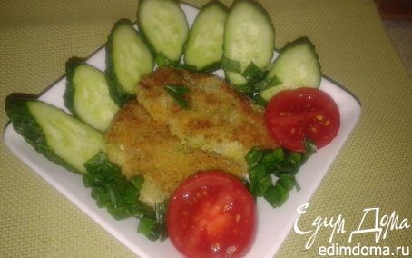 Рецепт Жареные пирожки из савойской капусты с яйцом и опятами