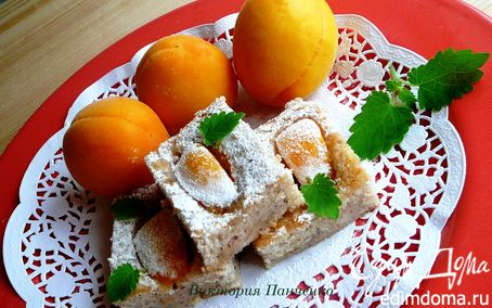 Рецепт Финансье с абрикосами