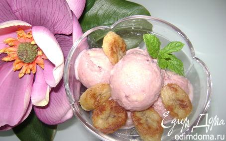 Рецепт Кефирно-банановое мороженое