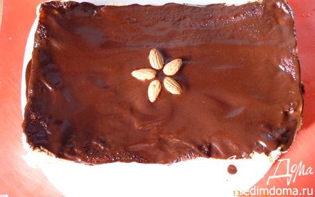 Рецепт Шарлотка с грушами и шоколадной помадкой