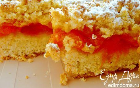 Рецепт Абрикосовые пироги (Apricot crumb bars)