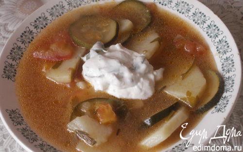 Рецепт Греческий картофельный суп