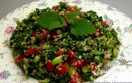 Рецепт Табуле. Салат с булгуром и зеленью