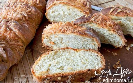 Рецепт Сырно-луковый домашний хлеб