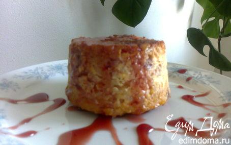 Рецепт Мини-запеканка рисовая с творогом и вишнями