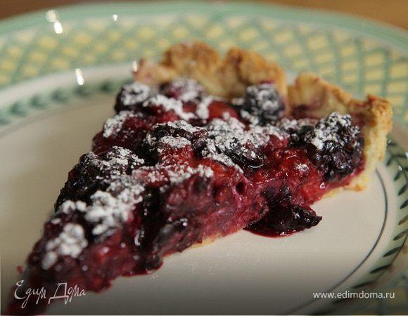 Летний ягодный пирог
