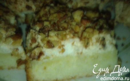 Рецепт Сухой ореховый торт