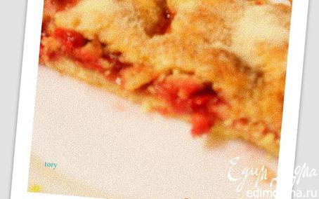 Рецепт Малиновый пирог