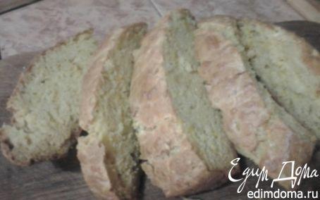 Рецепт Луково-сырный быстрый хлеб