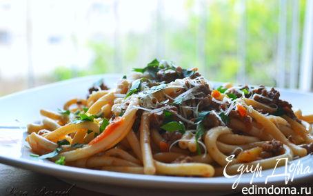 Рецепт Быстрые болоньезе (Spaghetti alla Bolognese)