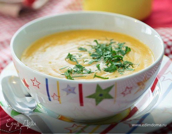 Суп из моркови и корня сельдерея
