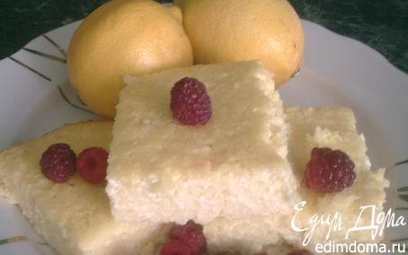 Рецепт Творожник лимонный (без муки)