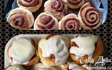 Рецепт Роллы с корицей (Cinnamon rolls)