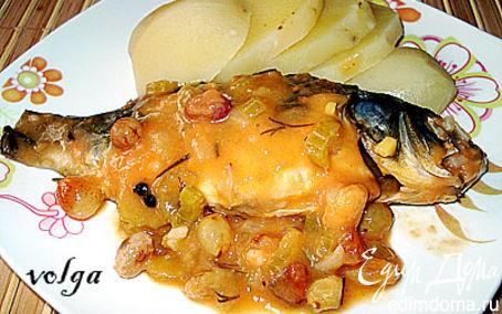 Рецепт Карп в кисло-сладком соусе
