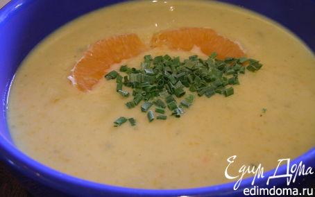 Рецепт Крем-суп из кабачков с апельсином и тимьяном