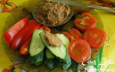 Рецепт Паштет из чечевицы с орехами и черносливом