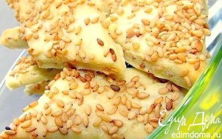 Рецепт Кунжутные крекеры