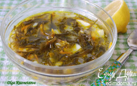 Рецепт Суп с морской капустой