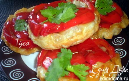 Рецепт Мини-пироги с болгарским перцем