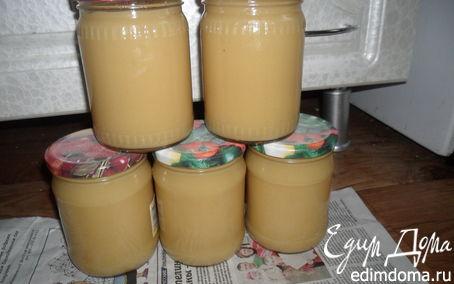 Рецепт Детское яблочное пюре