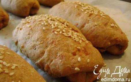 Рецепт Сырные булочки с зеленью