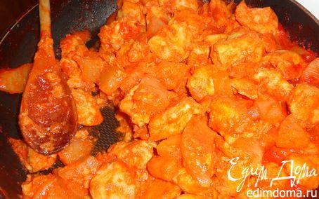 Рецепт Курица с ананасами по-китайски