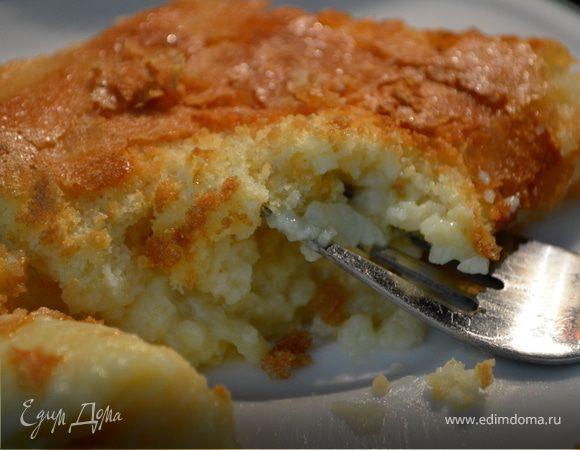 Лимонно-пудинговый кекс