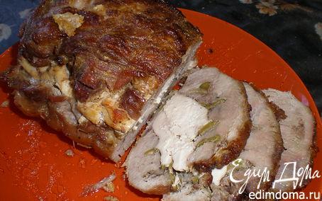 Рецепт Буженина свиная с куриной грудкой