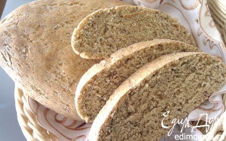 Рецепт Кукурузный хлеб с тмином и отрубями