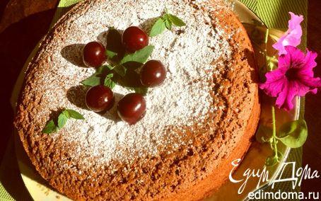 Рецепт Шоколадный манник с вишней