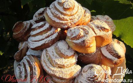 Рецепт Плюшки Московские в хлебопечке