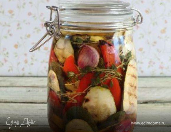 Овощи-гриль в маринаде