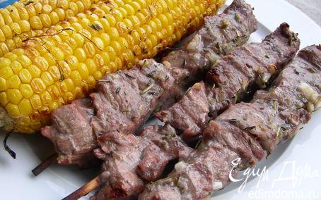 Рецепт Запеченная кукуруза-гриль с ароматными травами